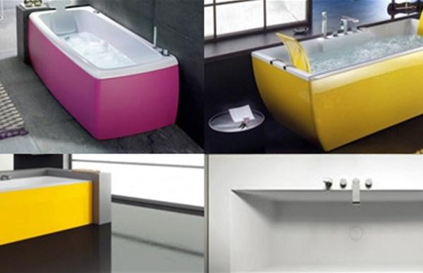 Vasca Da Bagno Colorata : Vasche da bagno colorate tutte le proposte più chic