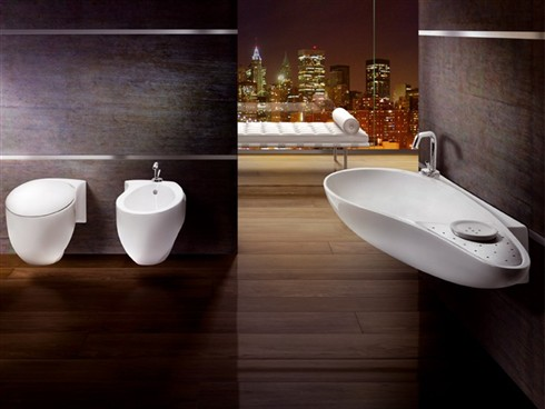 Sanitari in oro e platino di aet italia quando bagno for Produttori sanitari bagno