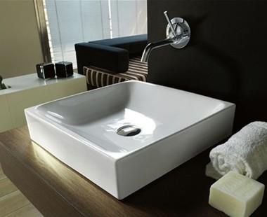azienda Kerasan presenta la linea di sanitari e lavabi Cento ...