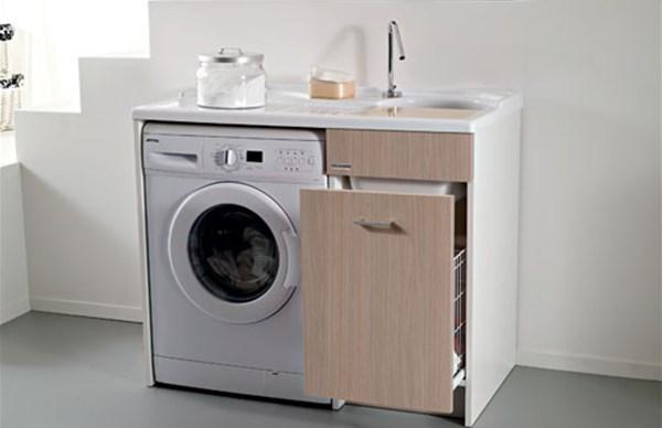 Arredo lavanderia e lavatoi