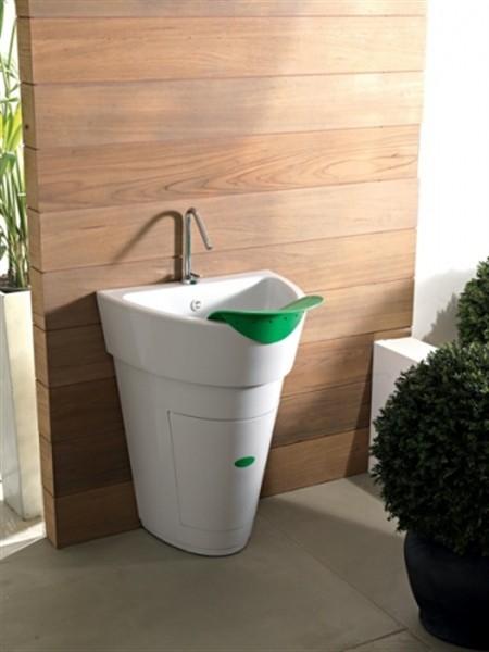 Pot colavene trasforma il terrazzo in lavanderia for Colavene arredo bagno