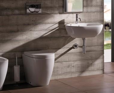 Sanitari ceramica globo bianco e nero per un bagno moderno - Ceramica bagno moderno ...