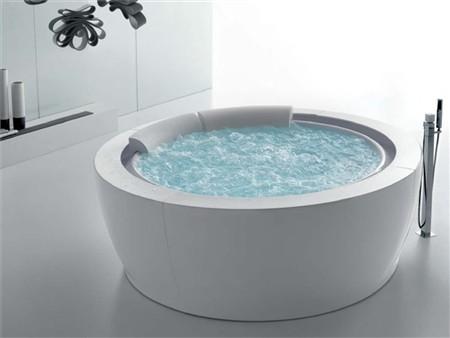 Vasca idromassaggio tonda bolla sfioro airpool - Vasca da bagno rotonda ...