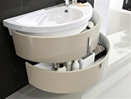 bagni piccoli? il segreto è l'arredo bagno modulare moon - Blob Arredo Bagno