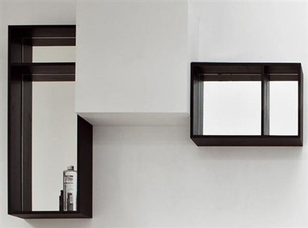 Kos by zucchetti specchi lavabi e mobili per un bagno di for Kos arredo bagno