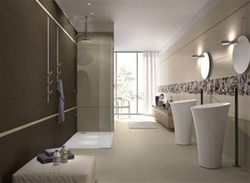 Lafaenza ceramica mattonelle e rivestimenti per un bagno for Arredo bagno mattonelle