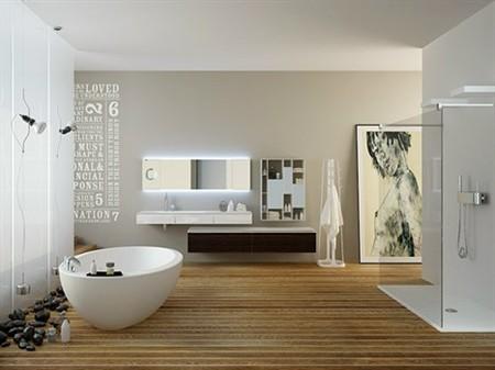 Piccola spa in casa - Ambientazioni bagni design ...