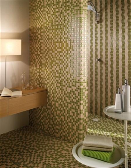 A newmetric design - Piastrelle doccia mosaico ...