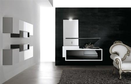Lavabi e mobili piquadro 2 e fly by bmt lo stile che arreda - Mobile bagno fly ...