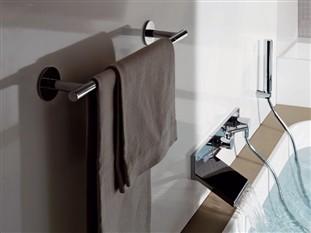 Rubinetterie zucchetti - Porta asciugamani da parete ...