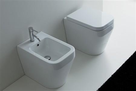 Sanitari bagno aliseo di nero ceramica for Produttori sanitari bagno
