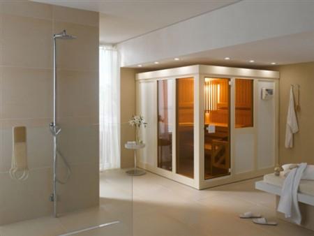 Arredare il proprio bagno in modo originale con le saune finlandesi ...