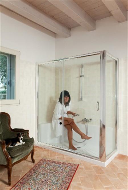 Sostituzione della vasca con doccia - Sostituzione vasca da bagno con doccia ...