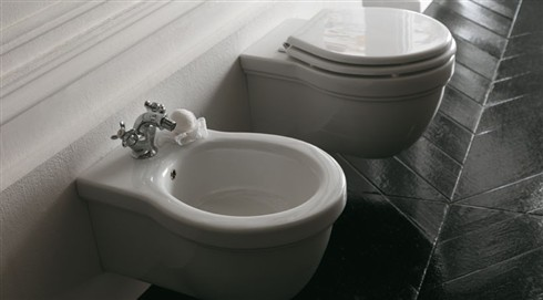 Ceramica galassia e la collezione sanitari bagno ethos for Produttori sanitari bagno