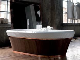 vasca da bagno centro stanza george