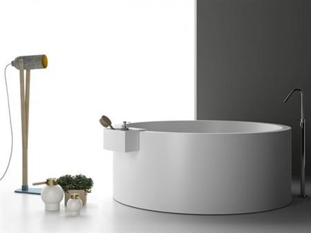 Vasca Da Bagno Freestanding Corian : Vasca da bagno freestanding di planit