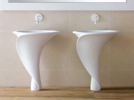 Mastella design suggestioni floreali per la linea lavabi kalla - Accessori bagno dwg ...
