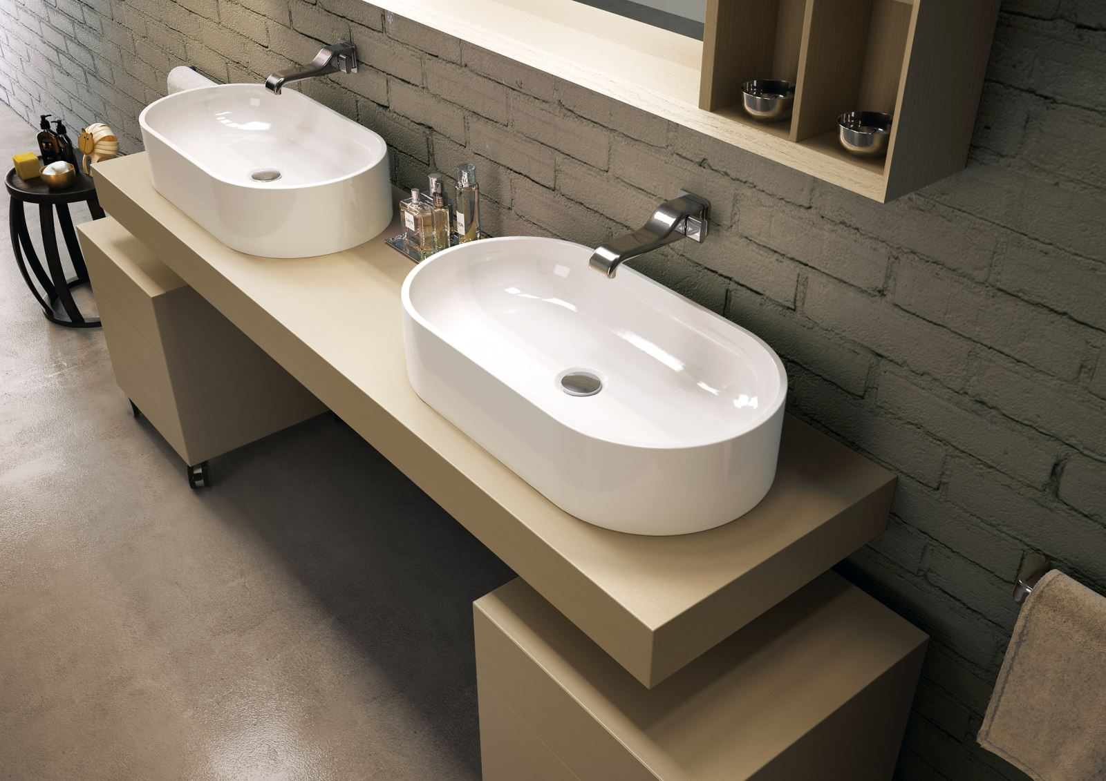 Vasca Da Bagno Flaminia Prezzi : Vasca da bagno in pietraluce wash by ceramica flaminia