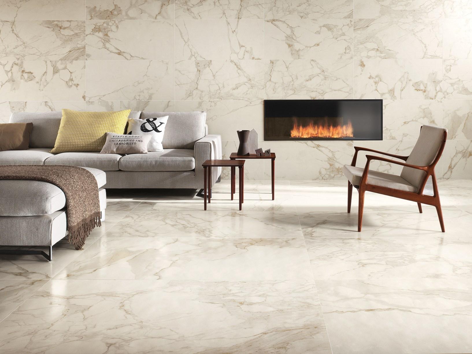 Gres porcellanato effetto marmo - Piastrelle effetto marmo ...