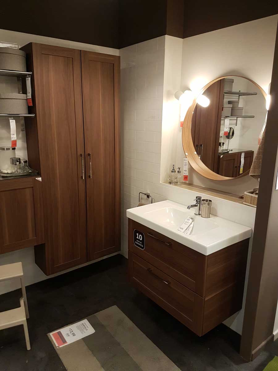 Mobili bagno ikea la giusta soluzione per tuo bagno - Ikea scaffali bagno ...