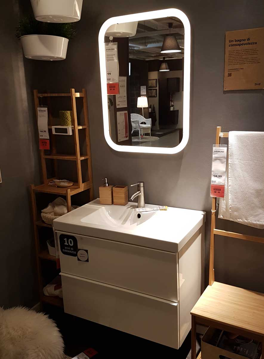 Mobili bagno ikea la giusta soluzione per tuo bagno - Ikea lavanderia mobili ...
