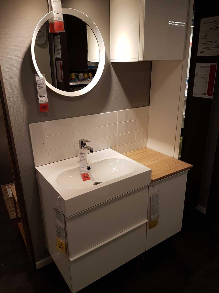 Mobile bagno con lavatrice ikea amazing bagno ikea - Ikea armadietti bagno ...