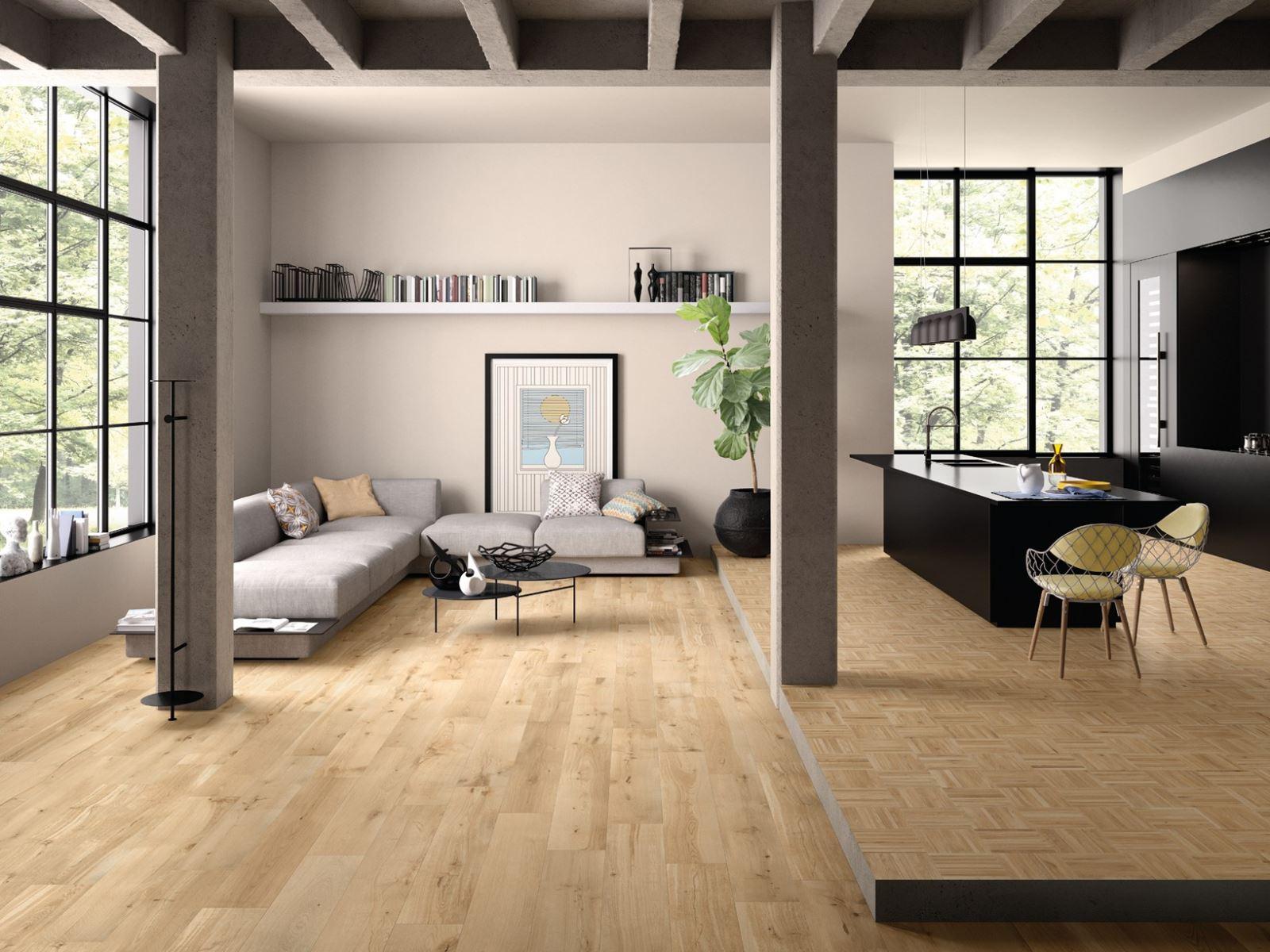 Pavimento Effetto Parquet Marazzi gres porcellanato effetto legno