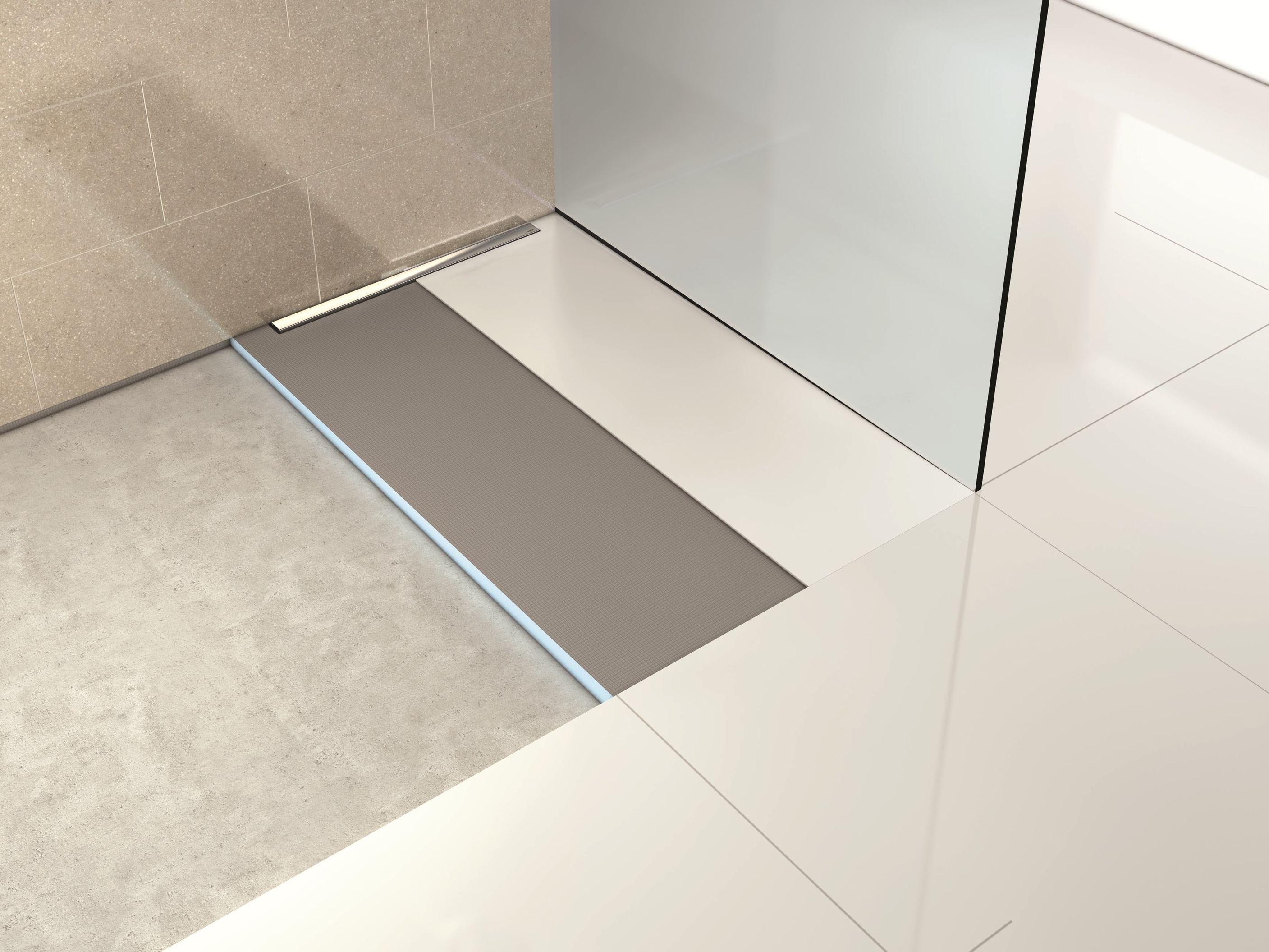 Piatto doccia piastrellato riolito neo riofino - Impermeabilizzazione piastrelle doccia ...