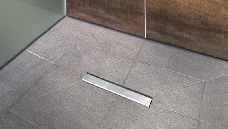 Piatto doccia piastrellato riolito neo riofino - Piatto doccia incassato nel pavimento ...