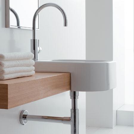 Lavabo 40x50 next - Lavabo bagno semincasso ...