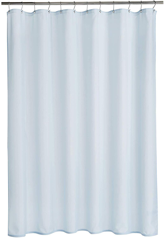 565pir Tenda da Doccia con Scritta Get Naked Colore Grigio//Bianco